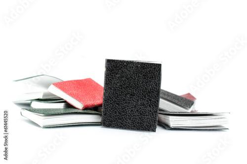 Bücher auf Haufen