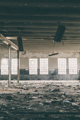 Interior of a Abandoned Factory