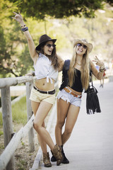 summer fashion young women