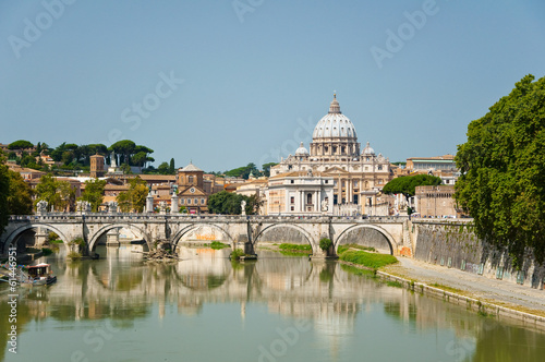 Fotobehang Rome Saint Peter's Basilica. Rome Italy.