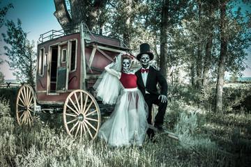 Skeleton Bride & Groom