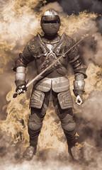 guerriero medievale