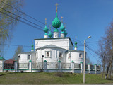 Transfiguration church in Kineshma, Russia