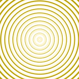 Yellow line circle background