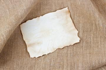 Vintage sheet paper