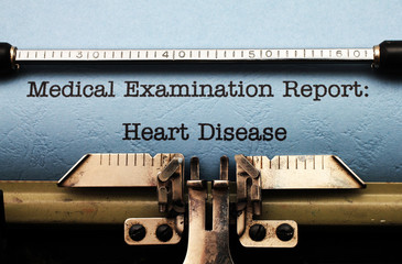 Medical report - heart disease