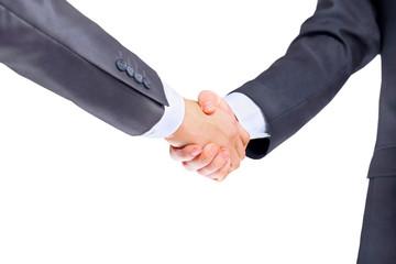 Photo of handshake of business partners