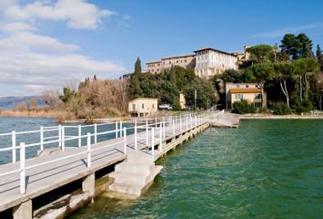 Lago Trasimeno (PG) borgo di Monte del Lago