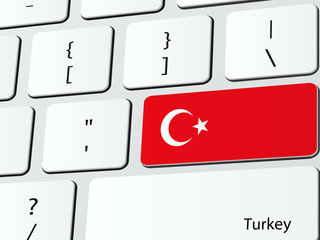 Turkey flag computer icon keyboard
