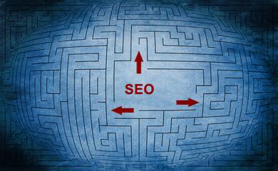 Seo maze concept