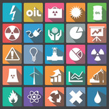 Energy Icon set flat