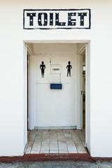 Toilette mit Geschlechterkennung,Namibia