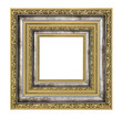 richly decorated frame