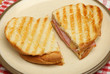 Toasted Sandwich with Cheese and Ham