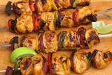 Indian Chicken Tikka Kebabs
