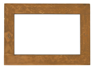 raw wooden frame