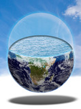 Water planet earth