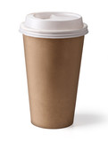Fototapety coffee in thermo cup