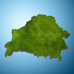 Belarus map - Belarusian map