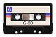 Leinwanddruck Bild - Cassette Tape