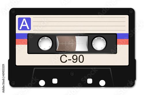 Leinwanddruck Bild Cassette Tape