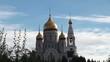 Orthodox church of the Resurrection. Khanty-Mansiysk, Russia.