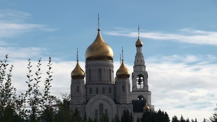 Orthodox church of the Resurrection. Khanty-Mansiysk, Russia.