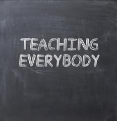 Teaching everybody concept