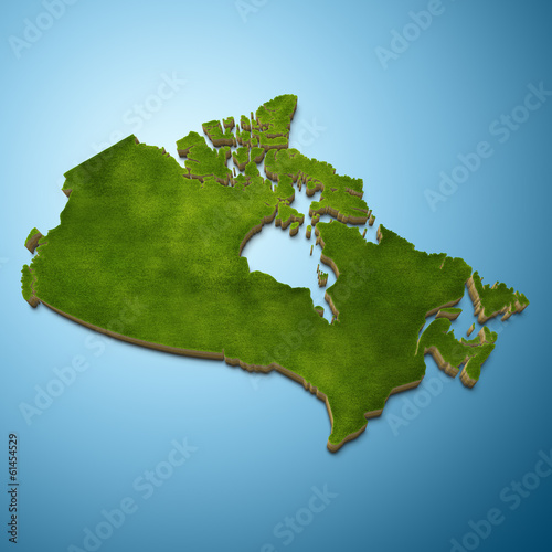 Canada map - Canadian map