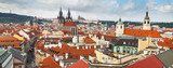 Panoramic of Prague