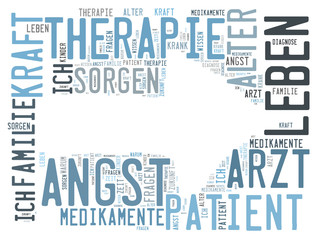 Therapie word cloud