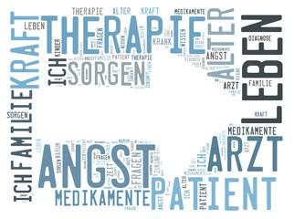 Therapie word cloud