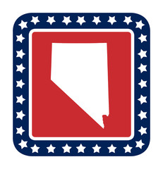 Nevada state button