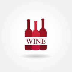 Wine icon or symbol