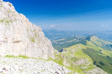A beautiful landscape, Gran Sasso, Abruzzo, Italy