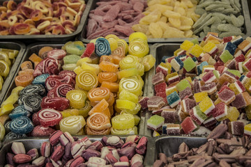 candies in the market