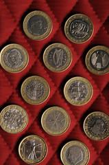 Монеты евро Euro coins 歐元硬幣 Euromünzen