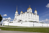 Assumption cathedral at Vladimir in summer (Russia)