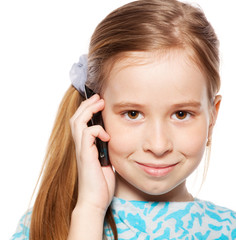 Girl, talking on the phone