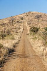 Dirt Road Steep Hill Wilderness Terrain