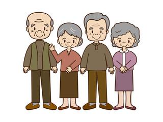 高齢者仲間