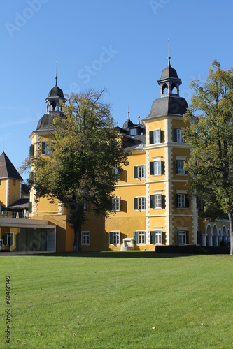 canvas print picture Velden Schloss