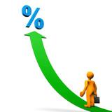 Manikin Arrow Percent