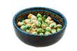 Crispy green peas