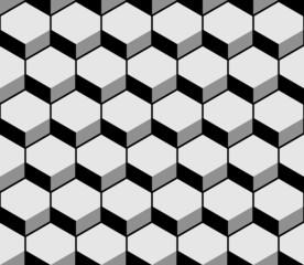 Hexagon pattern texture