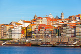 Ribeyr's region in Porto, Portugal, early in morning