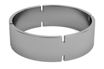 realistic 3d render of ring