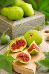 Yellow figs.