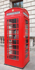 London telephone box