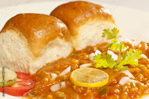 Pav Bhaji - Indian snack made of vegetables